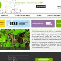 Site Internet de Vegdyes